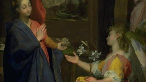 Federico Fiori, kaldet il Barocci: Jomfru Marias bebudelse (1584 eller senere)