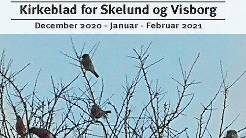 Kirkeblad Skelund-Visborg december 2020 - februar 2021
