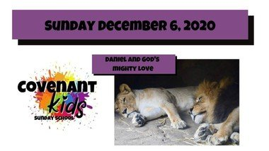 12-06-2020 Daniel and God's mighty love