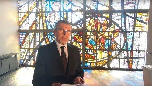 Pfarrer Peter Lösch wird verabschiedet