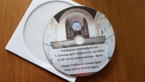 Gottesdienste auf Audio CD + Online