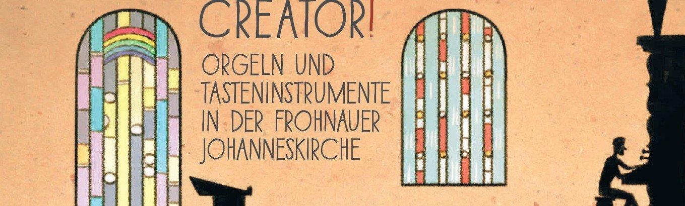 Veni Creator! - Orgel- und Tasteninstrumente der Frohnauer Johanneskirche erklingen auf CD