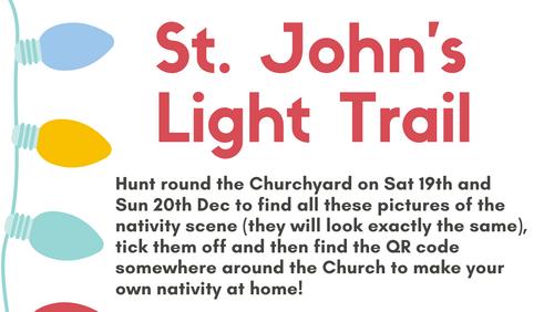 Christmas Light Trail
