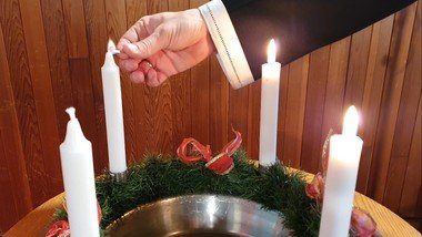 Third Sunday of Advent - with Lucia pageant
