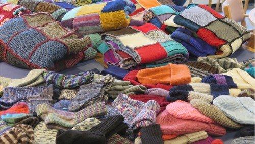 Varme tæpper til hjemløse