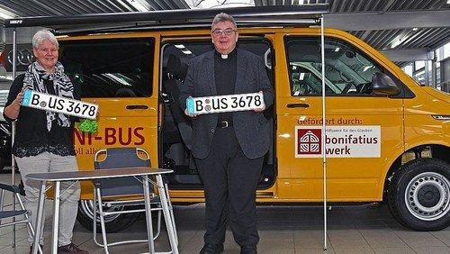 Boni-Bus mit Eyecatcher