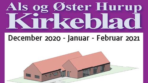 Kirkeblad Als-Øster Hurup december 2020