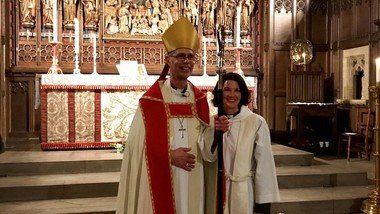 Fourth Sunday in Advent Holy Communion & Collation of Revd Susan Bolen as New Vicar (20/12/2020)