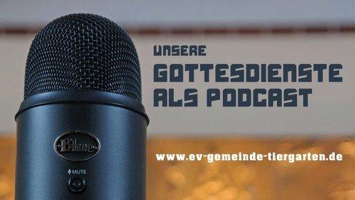Podcast zum Gottesdienst am 4. Advent 20. Dezember 2020