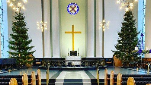 Aflysning af næsten alle julegudstjenester
