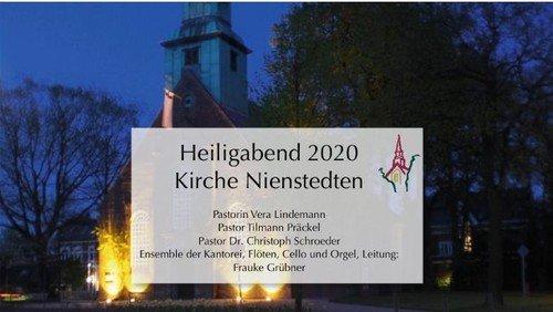 Weihnachtsandacht unseres Pastorenteams: Vera Lindemann, Tilmann Präckel und Dr. Christoph Schroeder