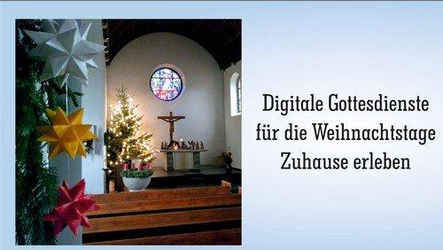 Digitale Weihnachtsgottesdienste