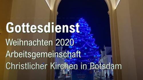 """""""Der Himmel auf Erden"""" - Gemeinsamer Weihnachtsgruß der Potsdamer Christen"""