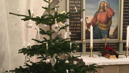 Se live julegudstjeneste fra Ellidshøj kirke juleaften kl. 15.00