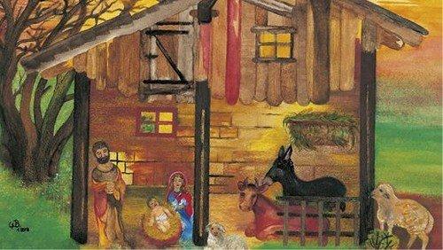 Die Weihnachtsgeschichte nach Lukas