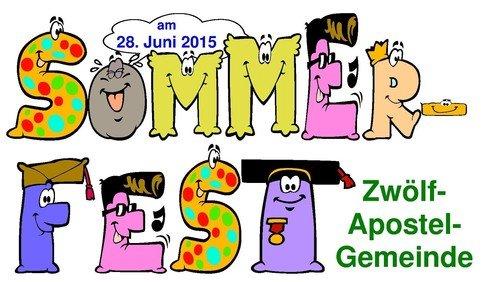 Sommerfest in der Zwölf-Apostel-Kirchengemeinde am 28.06.2015