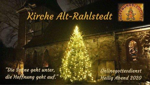 Weihnachtsgottesdienst aus der Alt-Rahlstedter Kirche