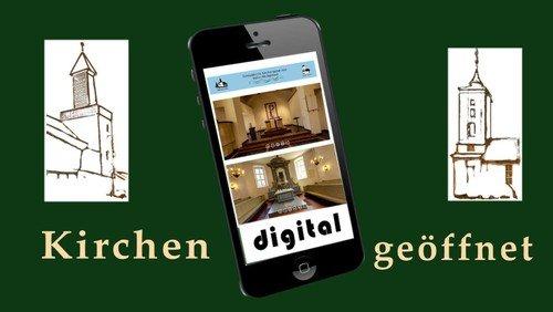 Kirchen weiterhin digital geöffnet