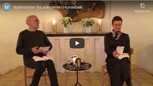 Uformel nytårshilsen fra Mona og Hans-Henrik
