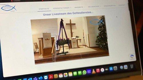 3.1.2021 Gottesdienst live gestreamt