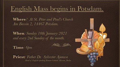 Holy Mass in English - Englischsprachiger Gottesdienst