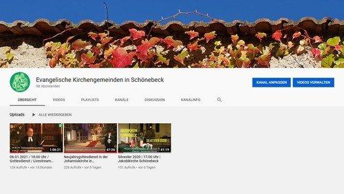 Gottesdienste in Schönebeck | Live-Stream bei youtube