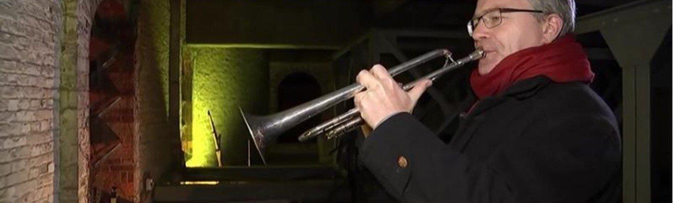 Der trompetende Pfarrer Schöntube im rbb