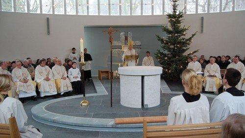 """10-jähriges Kirchweihfest der Kirche """"Stella Maris"""" in Binz"""