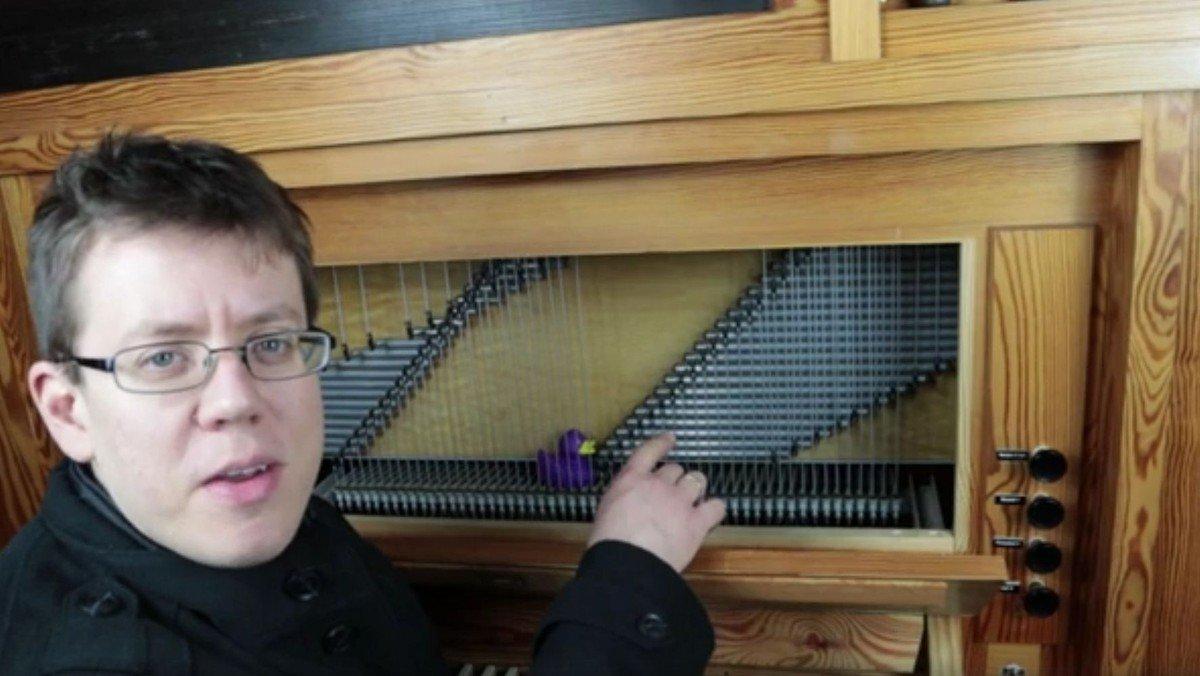 Orgelrätselreise: Ein Blick auf die Mechanik