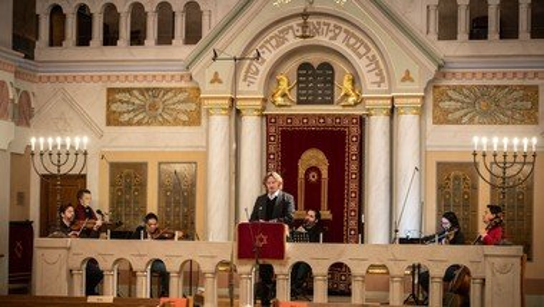 Lebensmelodien-Konzert aus der Synagoge Pestalozzistraße