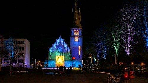 Illumination der Genezarethkirche