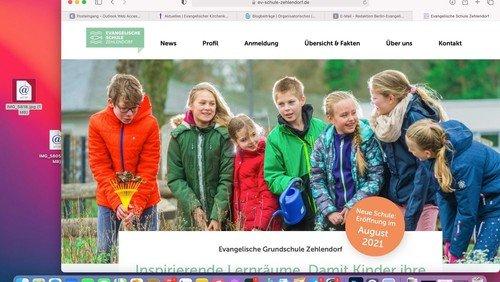 Ev. Schule Zehlendorf öffnet im August
