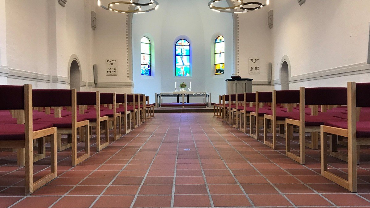 Kirkerummet er åbent tirsdag-fredag kl. 10-12