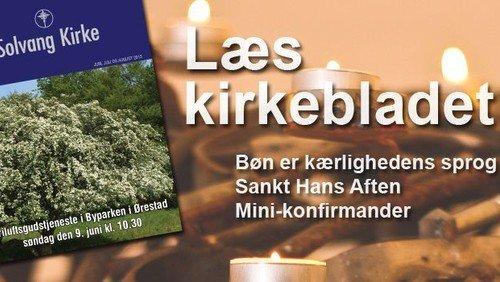 Kirkeblad - juni, juli og august 2013