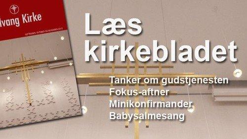 Kirkeblad - september, oktober og november 2013