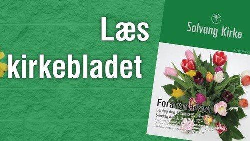 Kirkeblad - Marts, april og maj 2014