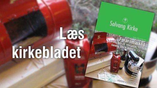 Kirkeblad - Marts, april og maj 2015