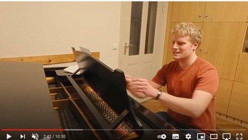 Das Wochenlied ist immer dabei - digitales Singen mit Paul Knizewski