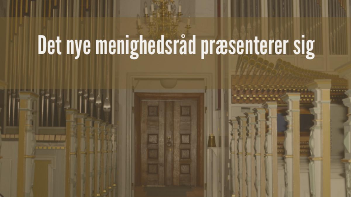 Det nye menighedsråd VEJBY - LOUISE KØSTER - ny i rådet og næstformand