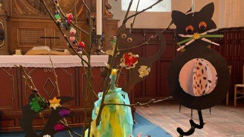 Fastelavn i kirken og små fastelavns-sysler