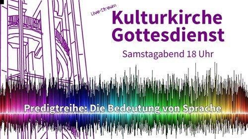 Live-Stream Kulturkirche am 30. Januar 2021