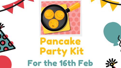 Pancake Party at Home!