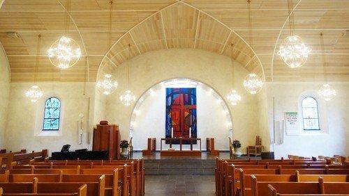 Kirken er stadig åben
