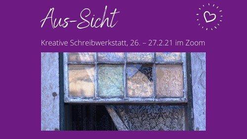 Aus-Sicht: Digitale Schreibwerkstatt mit Petra Lampe und dem Team von Brot & Liebe