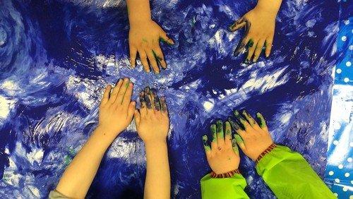 Kreativworkshop für Erwachsene mit Kindern