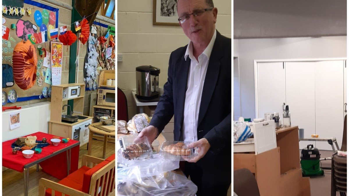 Community. Food. Support: Life in the Church Centre During Covid