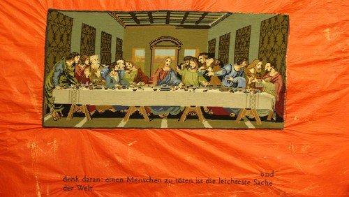 Ausstellung in der Passionszeit in der Dreieinigkeitskirche