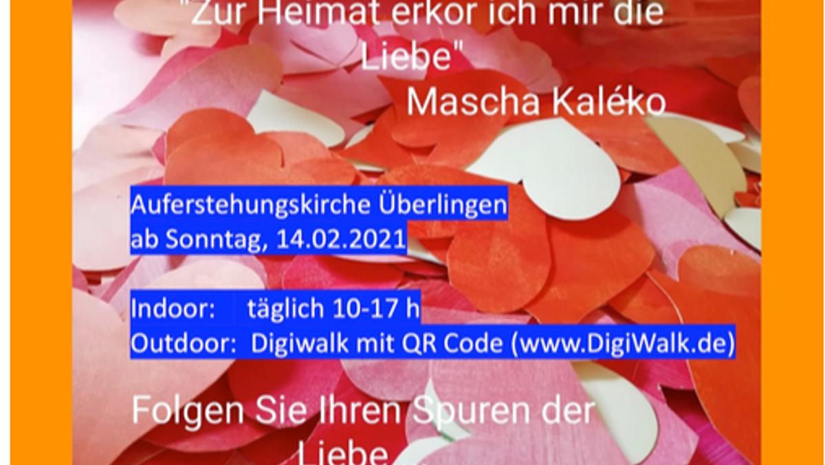 """""""Zur Heimat erkor ich mir die Liebe"""" - Stationen zum Valentinstag"""