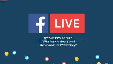 Watch our latest Livestream and come back to watch the next service Live.