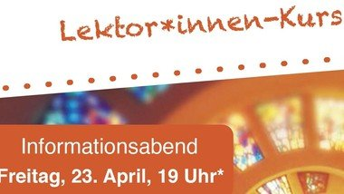 Infoabend zum Lektor*innen-Kurs am 23. April